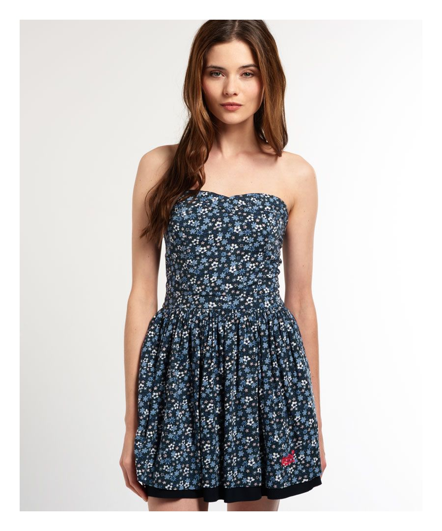 Image for Superdry 50's Meadow Print Dress