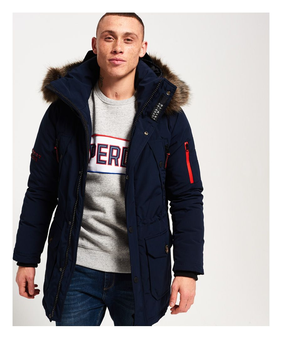 Image for Superdry Premium Down Trans-Alps Parka Jacket