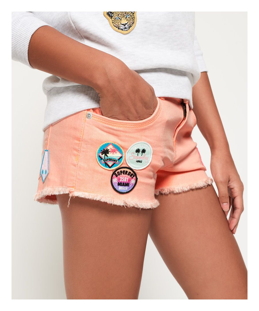 Image for Superdry Denim Hot Shorts