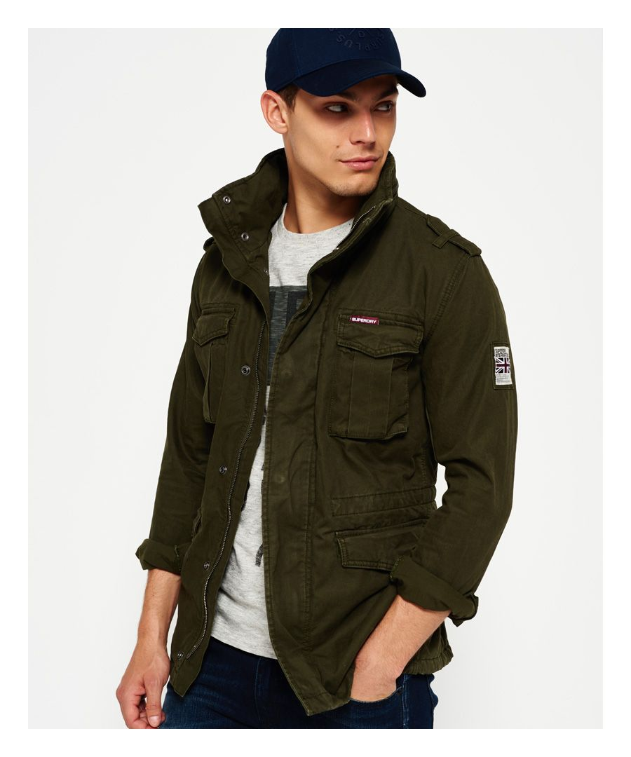 Image for Superdry Rookie Heavy Weather Field Jacket