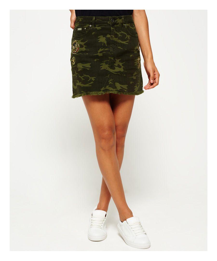 Image for Superdry Freya Mini Skirt
