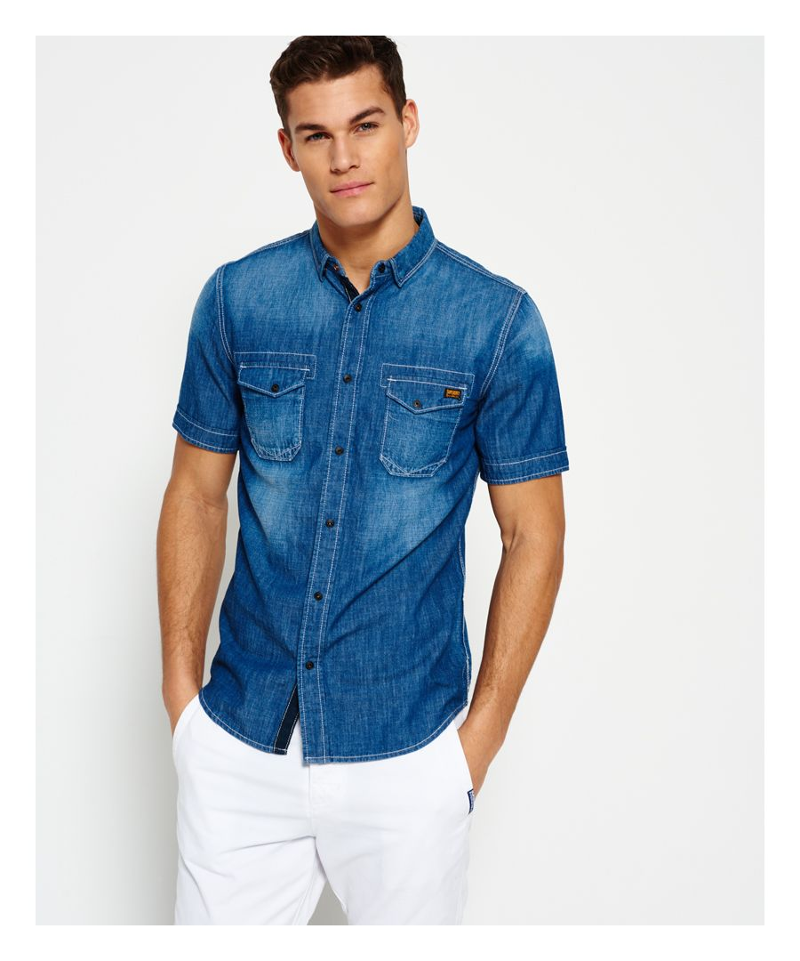 Image for Superdry Slim Biker Shirt