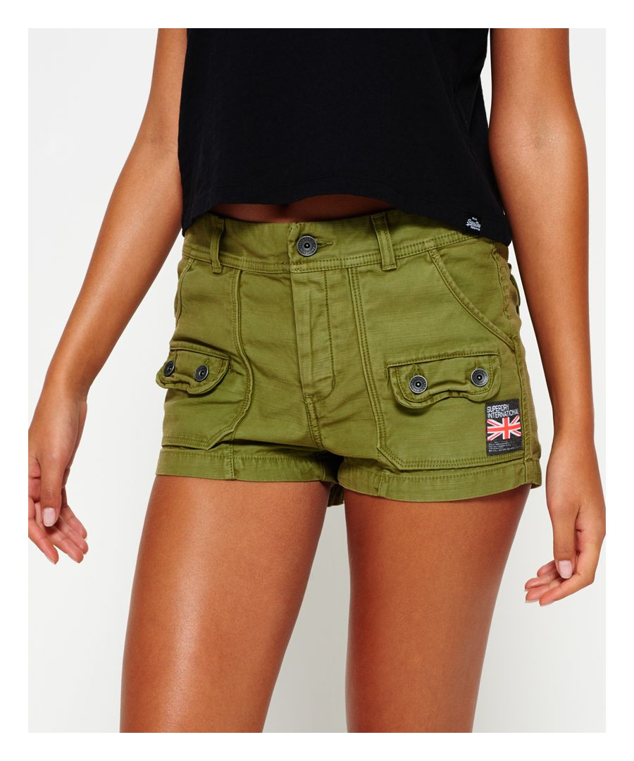 Image for Superdry Utility Hot Shorts