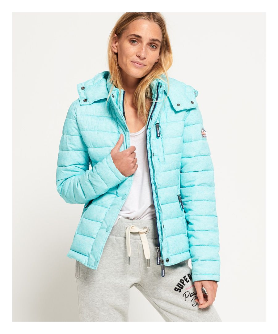 Image for Superdry Fuji Slim Double Zip Hooded Jacket