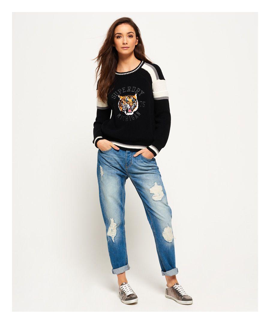 Image for Superdry Harper Boyfriend Glitter Jeans