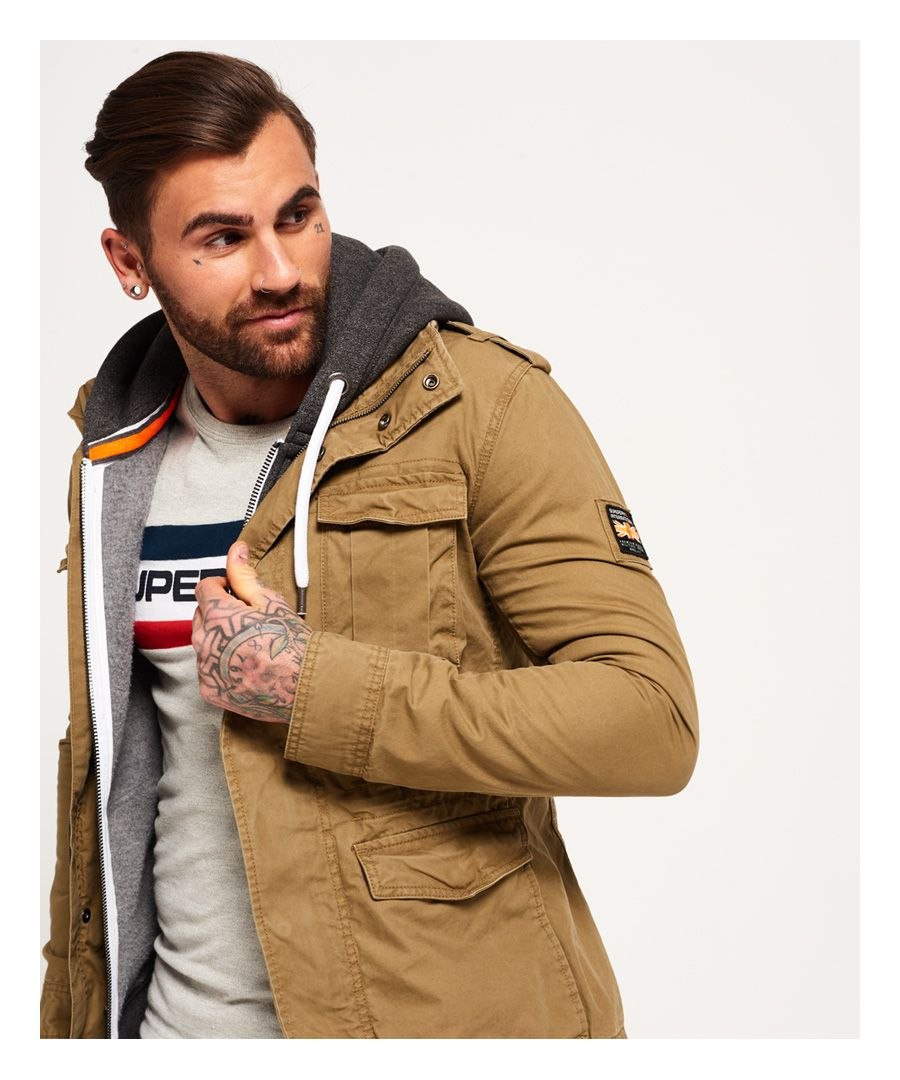 Image for Superdry Rookie Military Jacket
