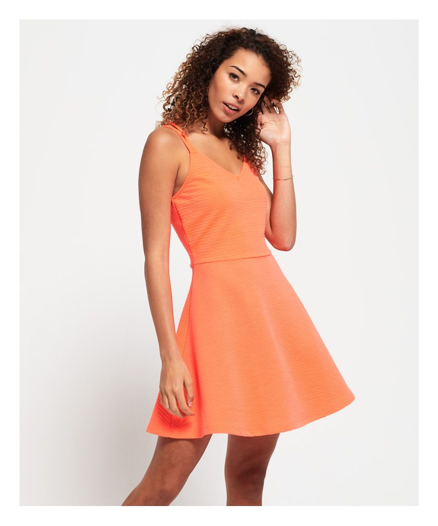 Image for Superdry Textured Skater Cami Dress