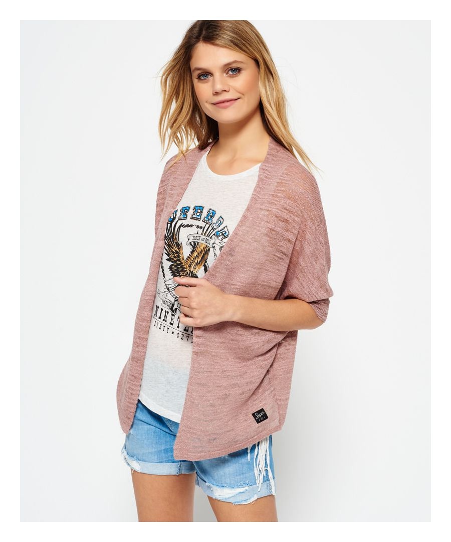 Image for Superdry Nevada Springs Slub Cardigan