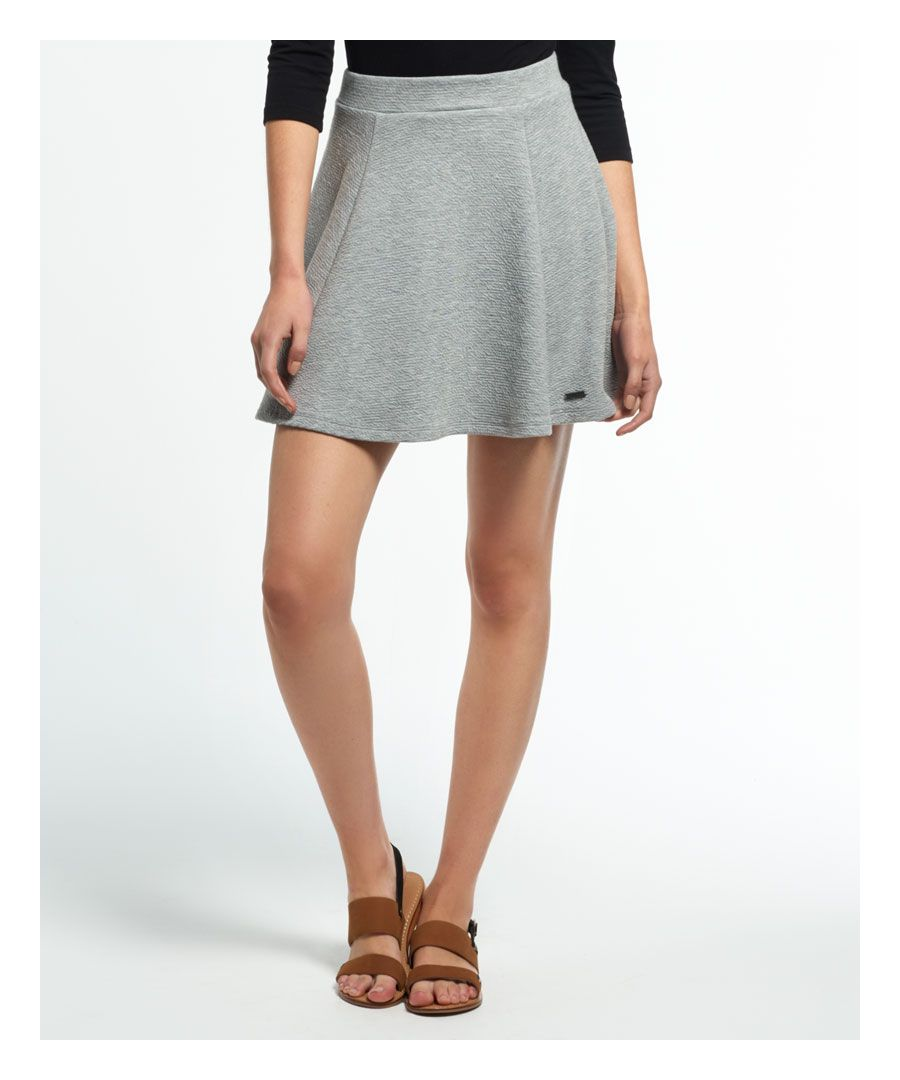 Image for Superdry Christa Jacquard Skater Skirt