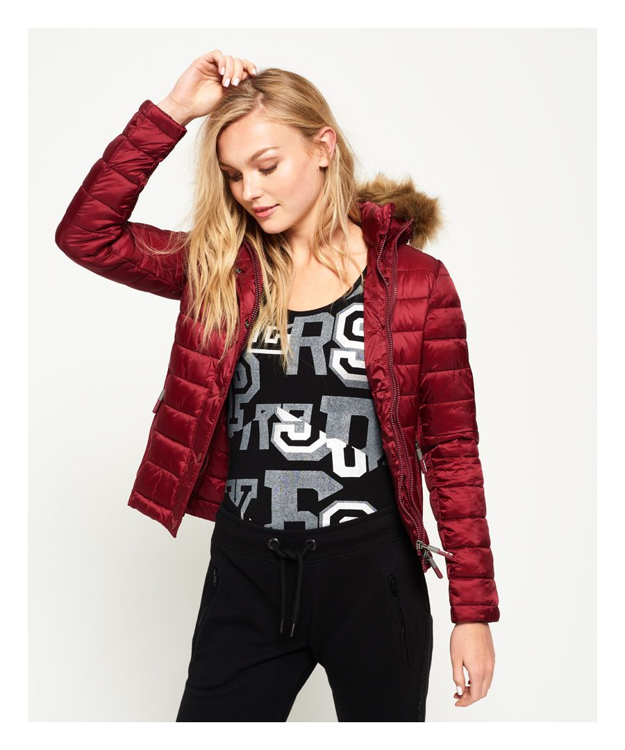 Image for Superdry Luxe Fuji Double Zip Hooded Jacket