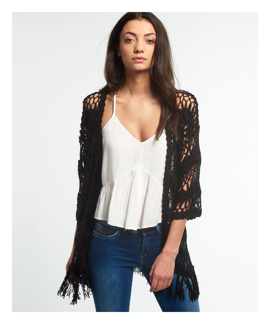 Image for Superdry Willow Crochet Kimono