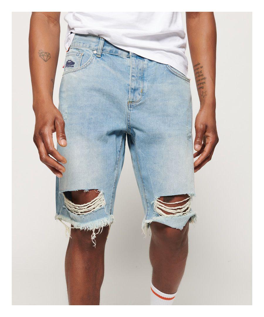 Image for Superdry Loose Denim Shorts