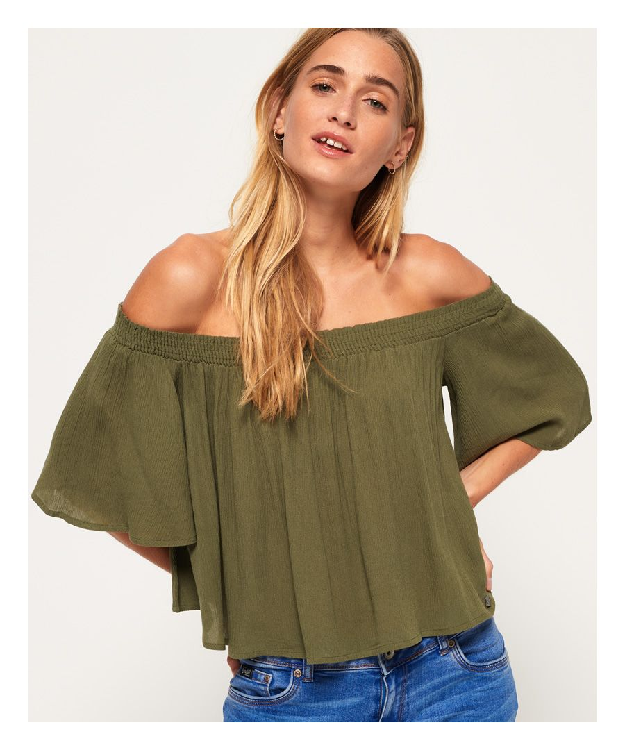 Image for Superdry Alia Off The Shoulder Blouse