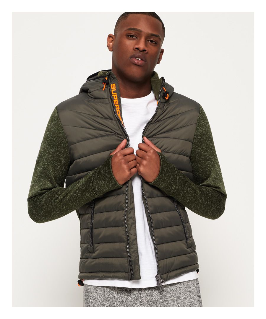 Image for Superdry Storm Hybrid Zip Hoodie