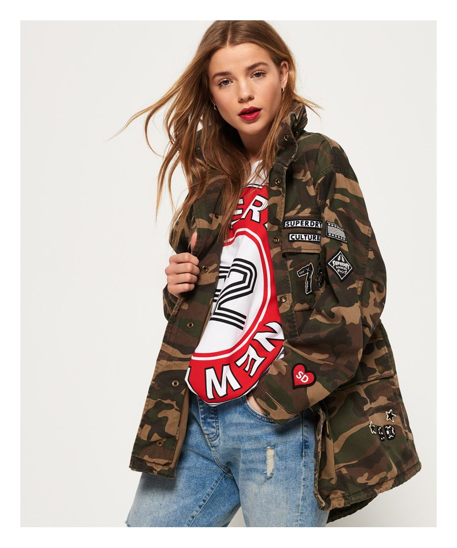 Image for Superdry Rookie Oversized Jacket