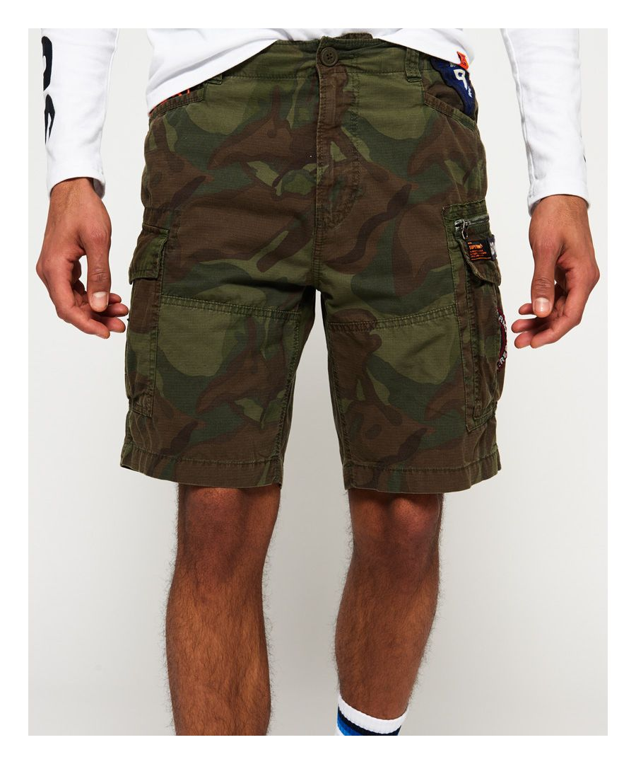 Image for Superdry Core Lite Parachute Shorts
