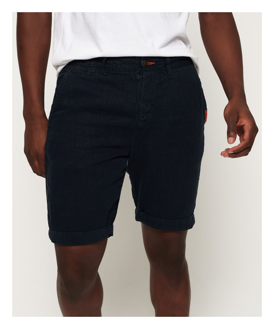 Image for Superdry International Linen Chino Shorts