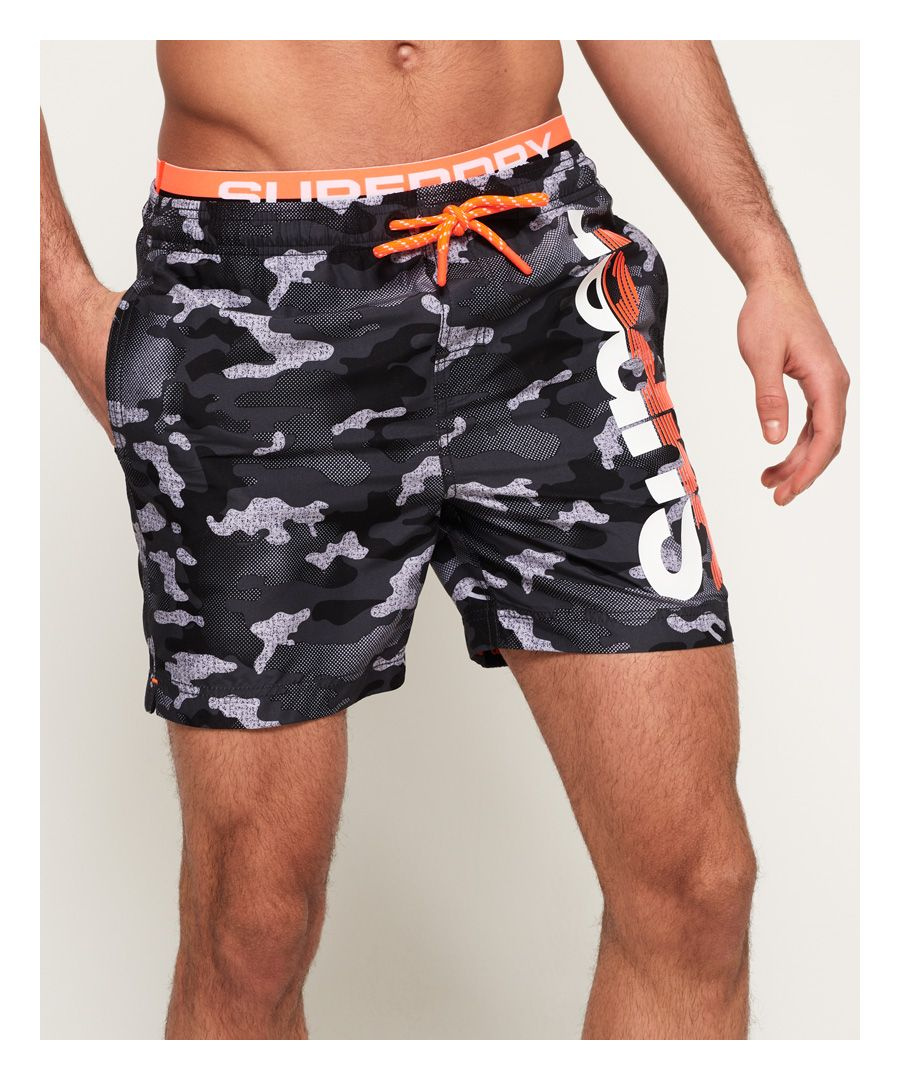 Image for Superdry SD State Volley Swim Shorts