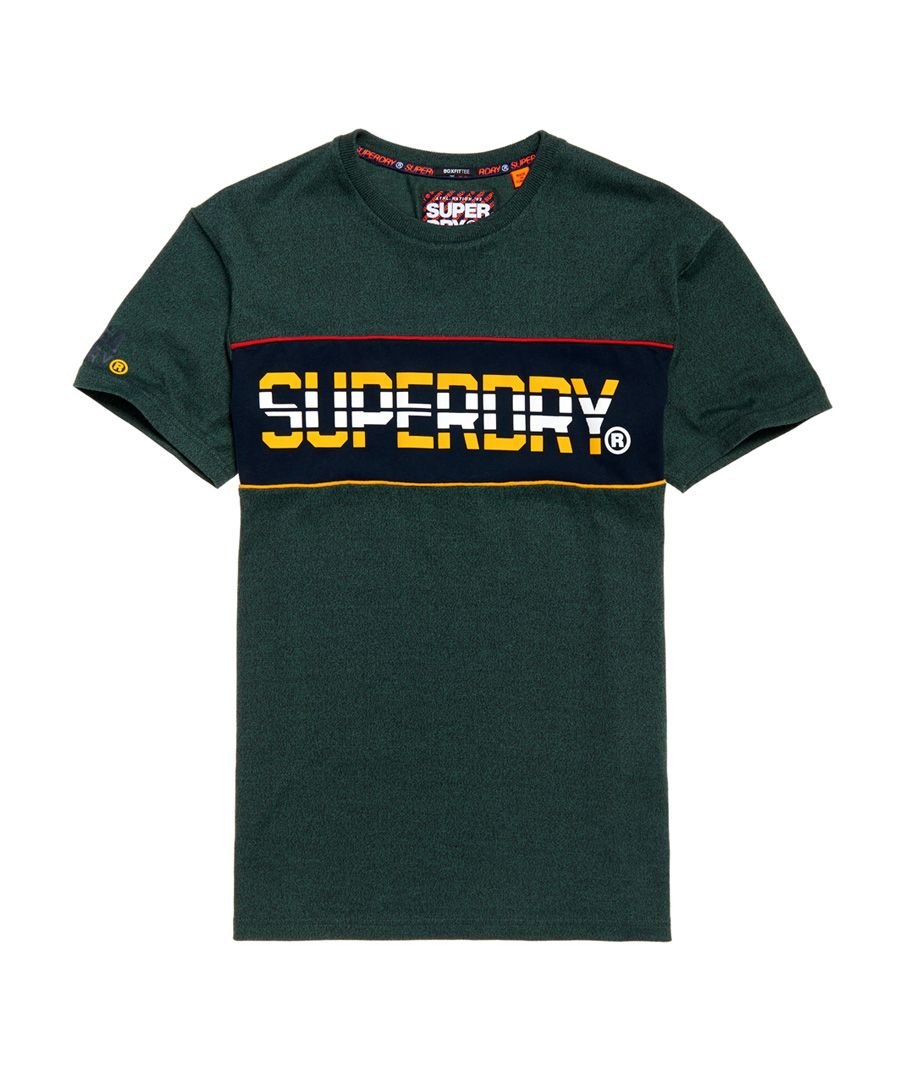 Image for Superdry Retro Stripe Box Fit T-Shirt