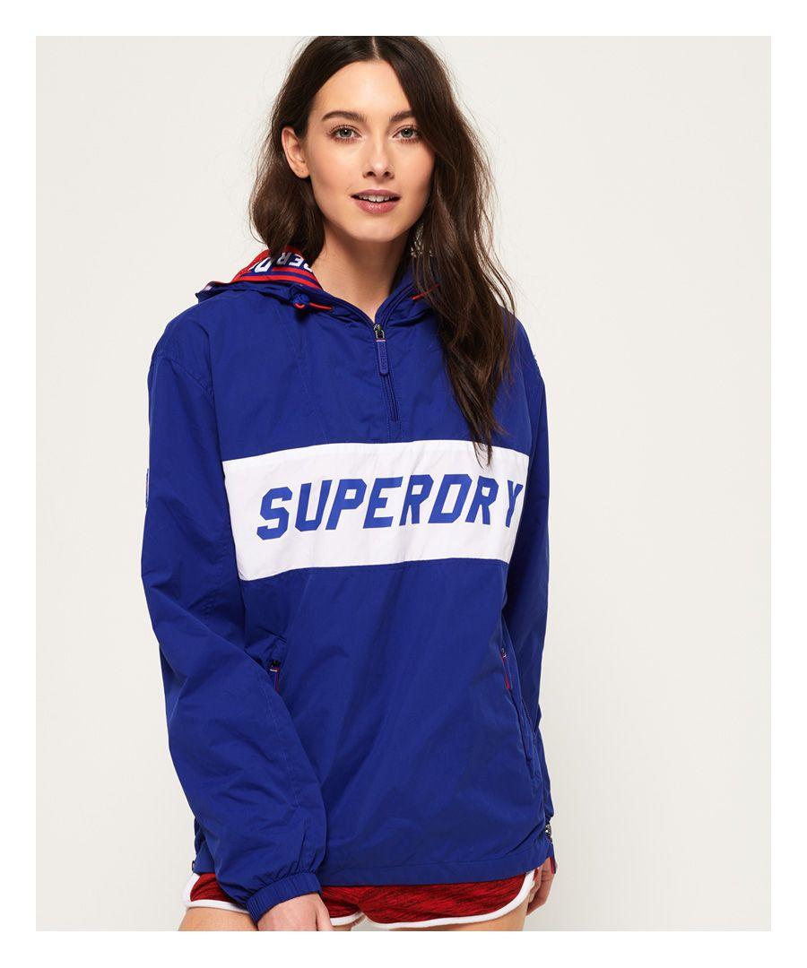 Image for Superdry Hooded Half Zip SD-Windbreaker Jacket