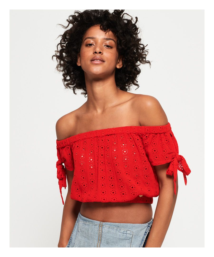 Image for Superdry Amiee Bardot Top