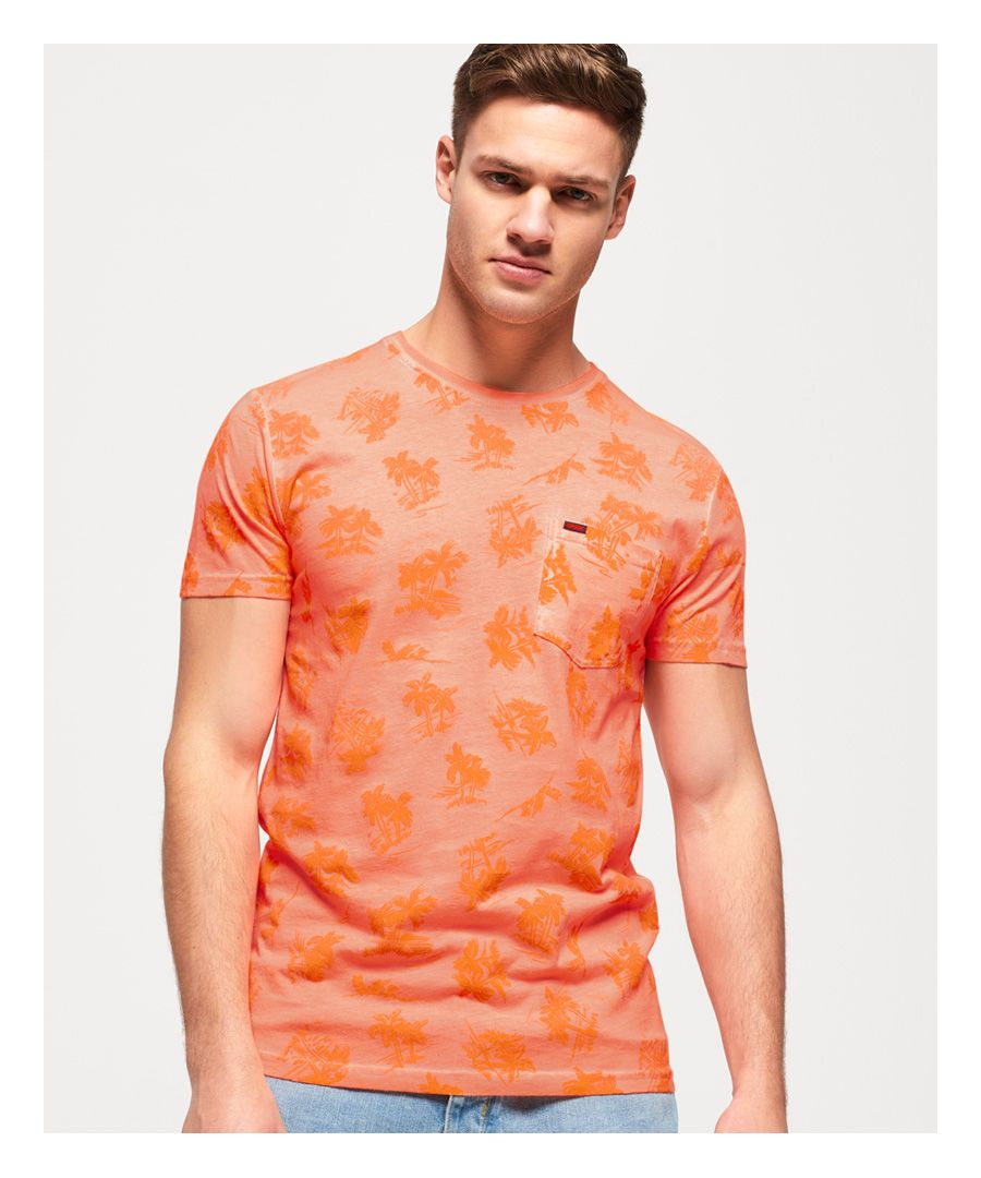 Image for Superdry Whistler All Over Print Lite T-Shirt