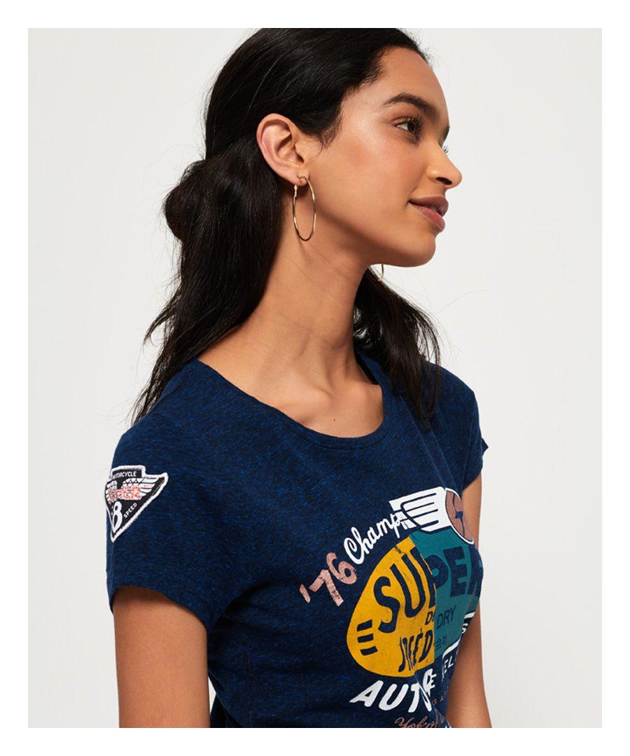Image for Superdry Gasoline Slice T-Shirt