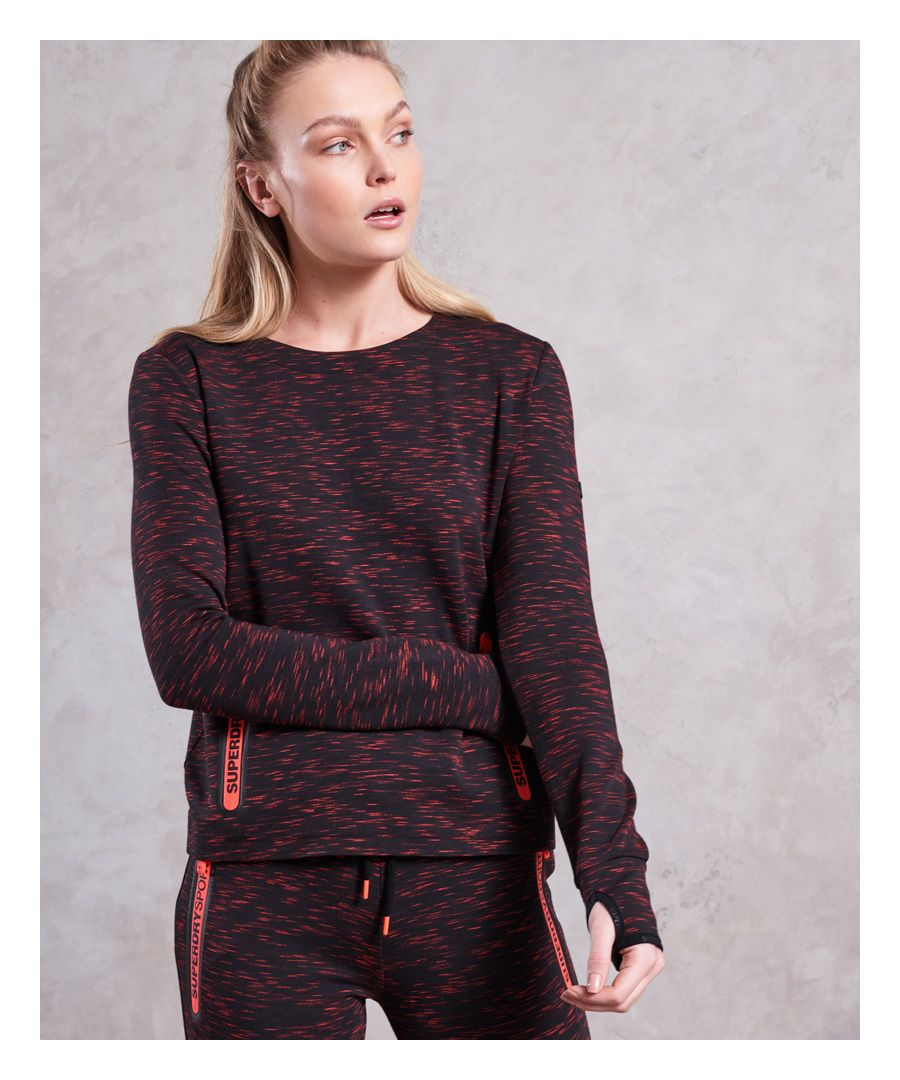 Image for Superdry Gym Tech Luxe Crew Neck Jumper