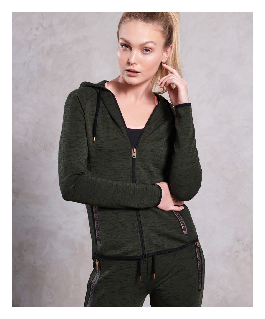 Image for Superdry Gym Tech Luxe Zip Hoodie