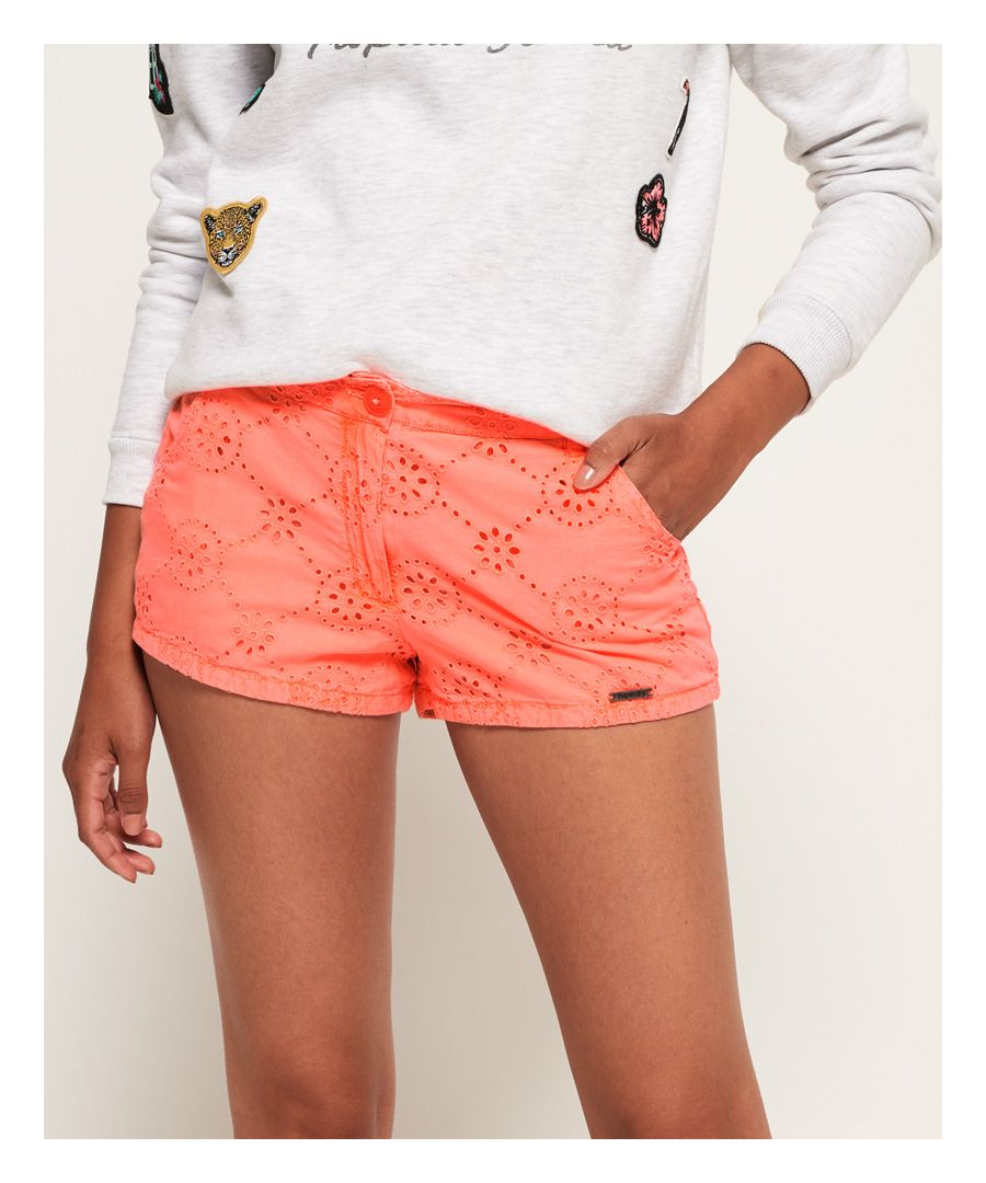 Image for Superdry Broderie Chino Shorts