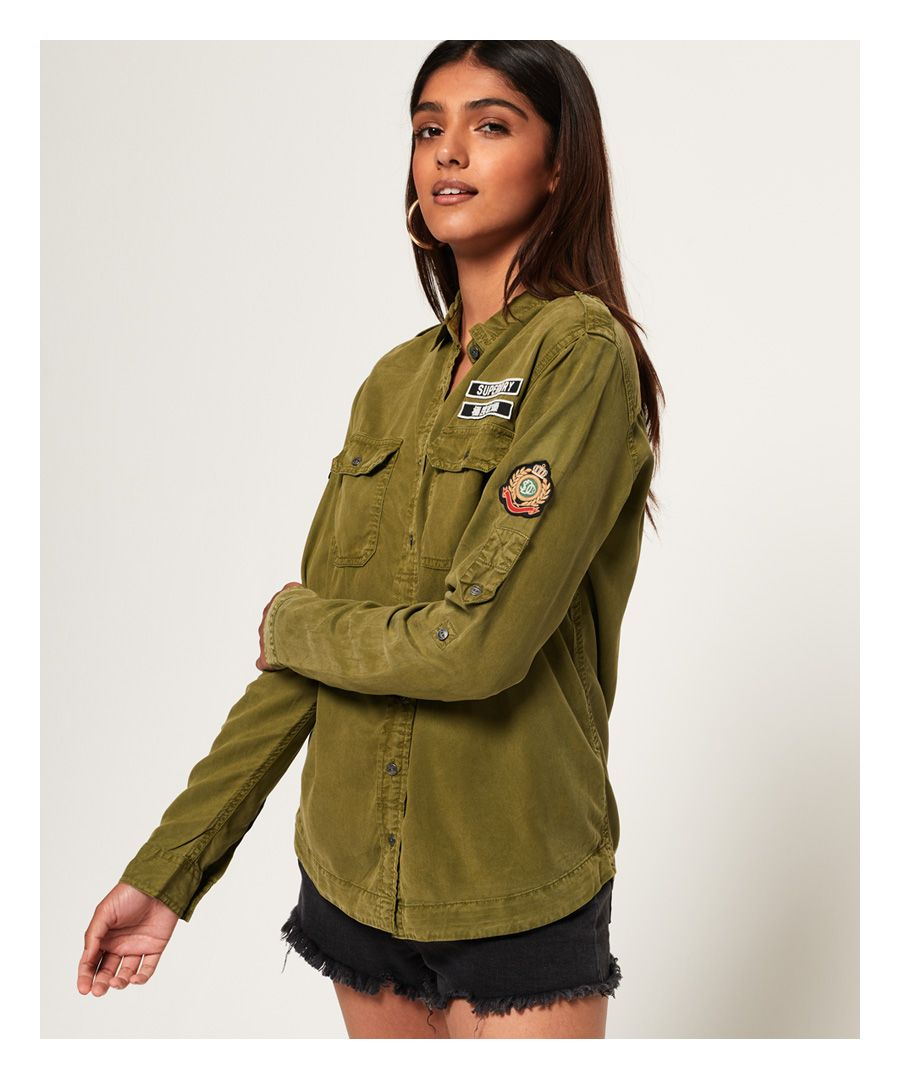 Image for Superdry Karli Military Shirt