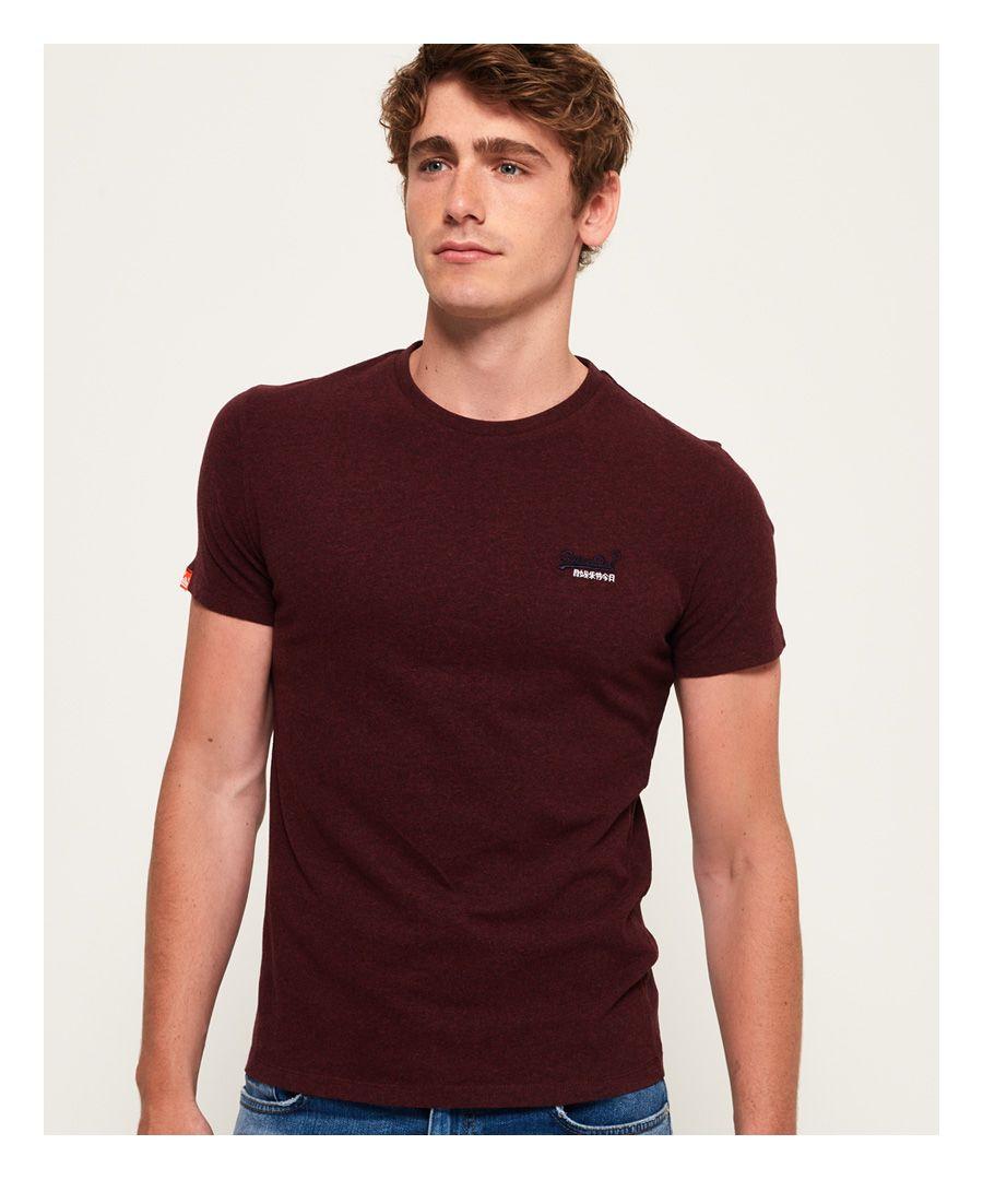 Image for Superdry Orange Label Vintage Embroidery T-Shirt