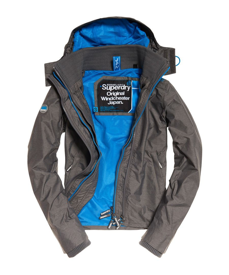 Image for Superdry Technical Hooded Pop Zip SD-Windcheater