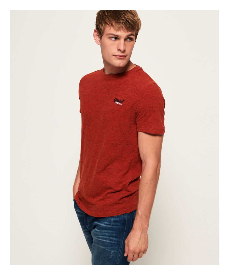 Image for Superdry Orange Label Vintage Embroidery T-Shirt