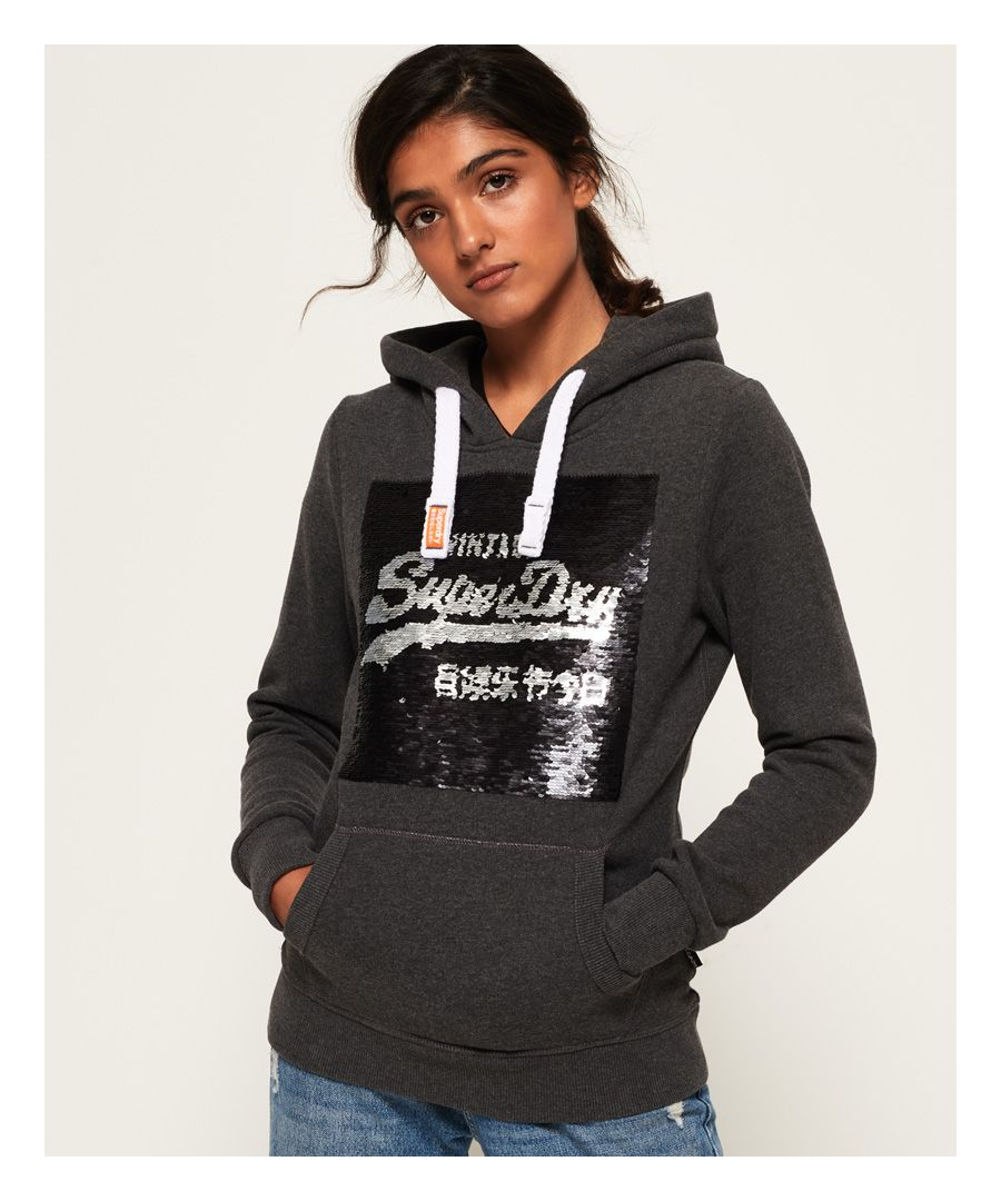 Image for Superdry Premium Sequin Hoodie
