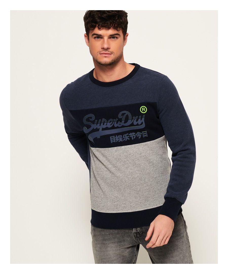 Image for Superdry Vintage Logo Panel Sweatshirt