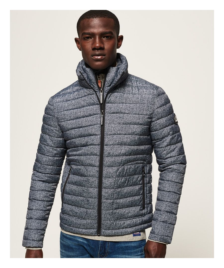 Image for Superdry Printed Double Zip Fuji Jacket
