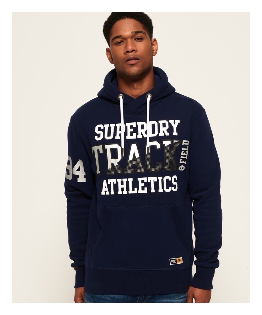 Image for Superdry Super Track Metallic Hoodie