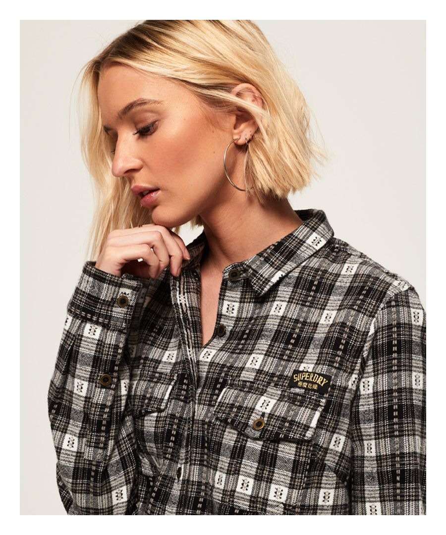 Image for Superdry Imogen Lumberjack Check Shirt