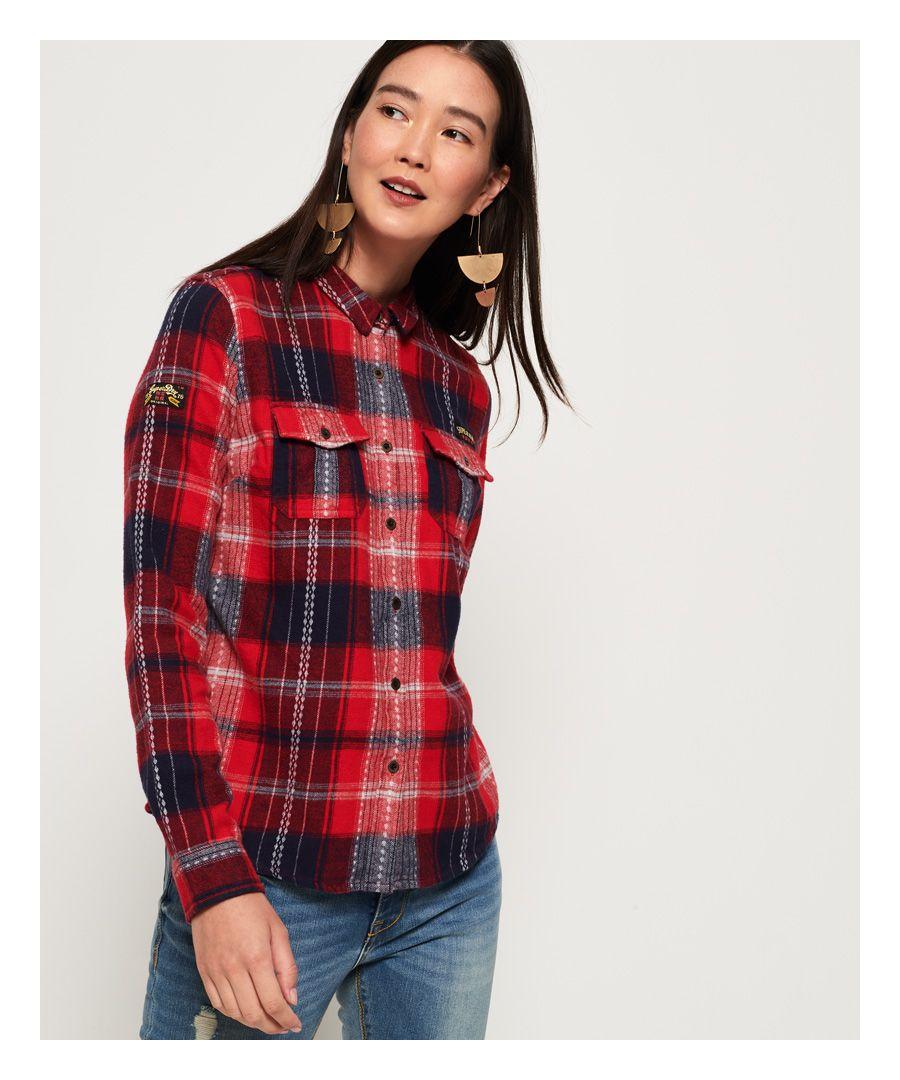 Image for Superdry Imogen Lumberjack Check Shirt
