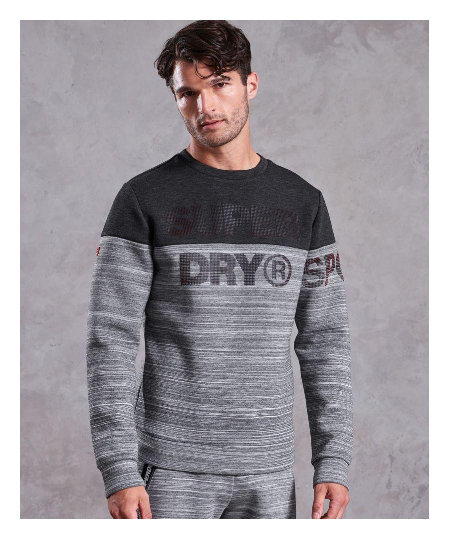 Image for Superdry Gym Tech Cut Crew Sweatshirt