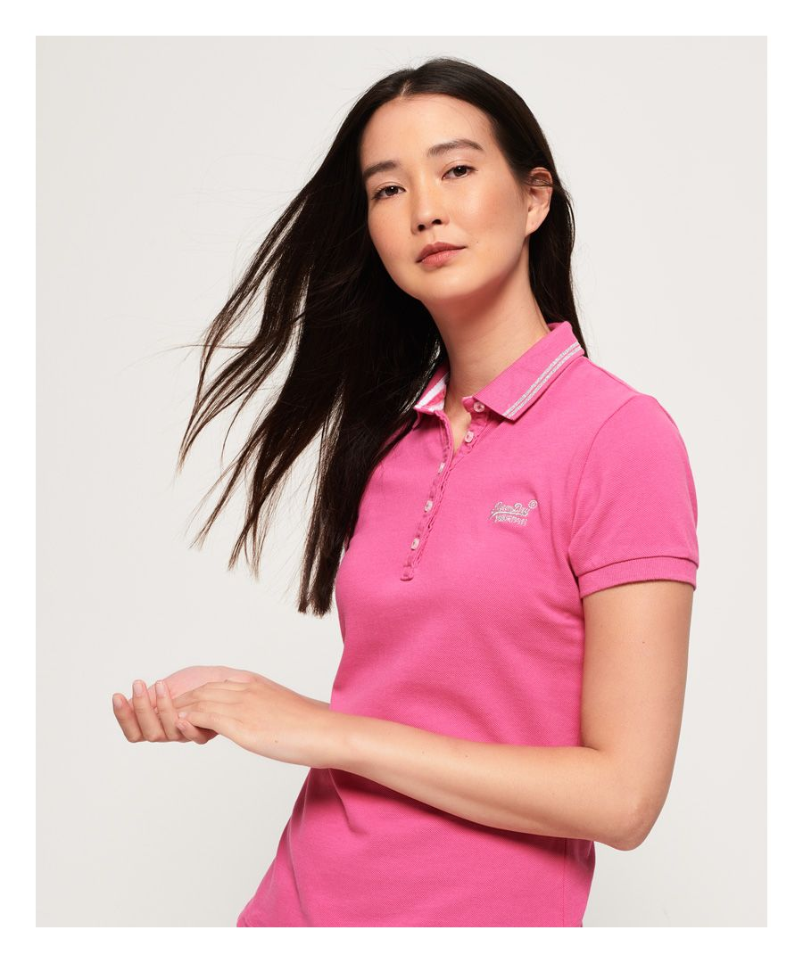 Image for Superdry Classic Polo Top