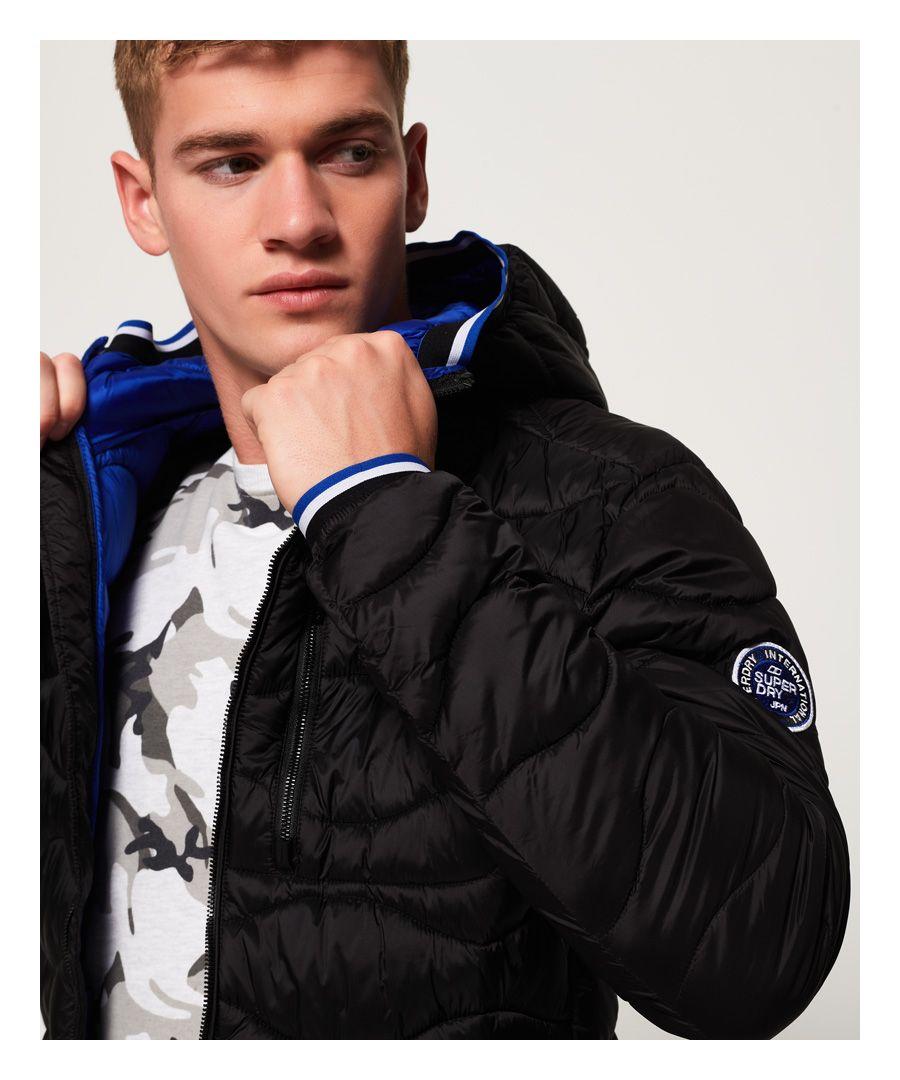 Image for Superdry Wave Quilt Jacket