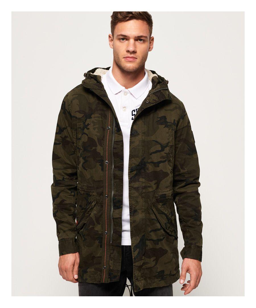 Image for Superdry Military Parka Jacket
