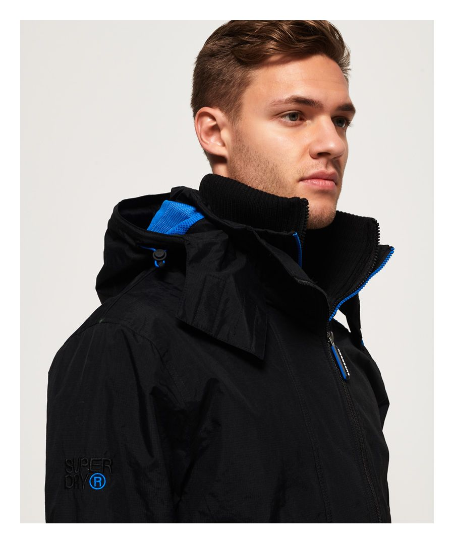 Image for Superdry Technical Pop Zip Hooded SD-Windcheater Jacket