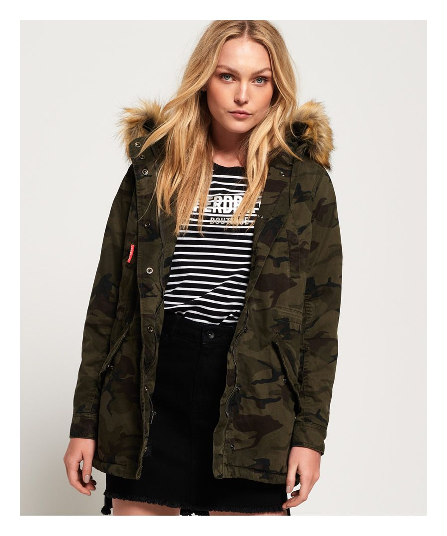 Image for Superdry Classic Rookie Fishtail Parka Coat