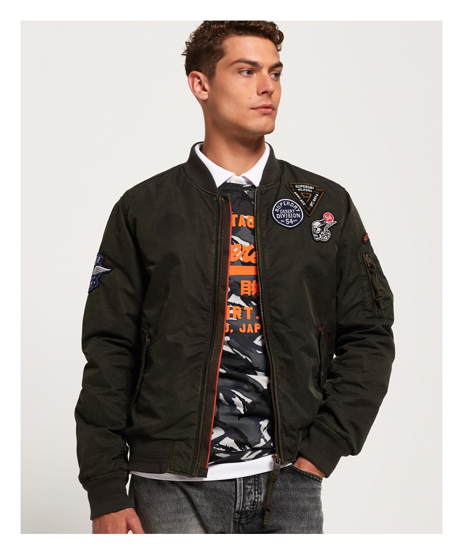 Image for Superdry Limited Issue Flight Bomber Jacket