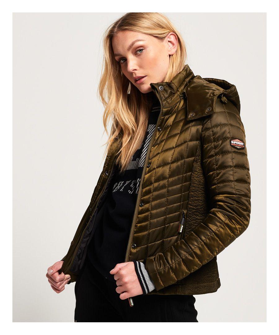 Image for Superdry Nova Box Quilt Fuji Jacket