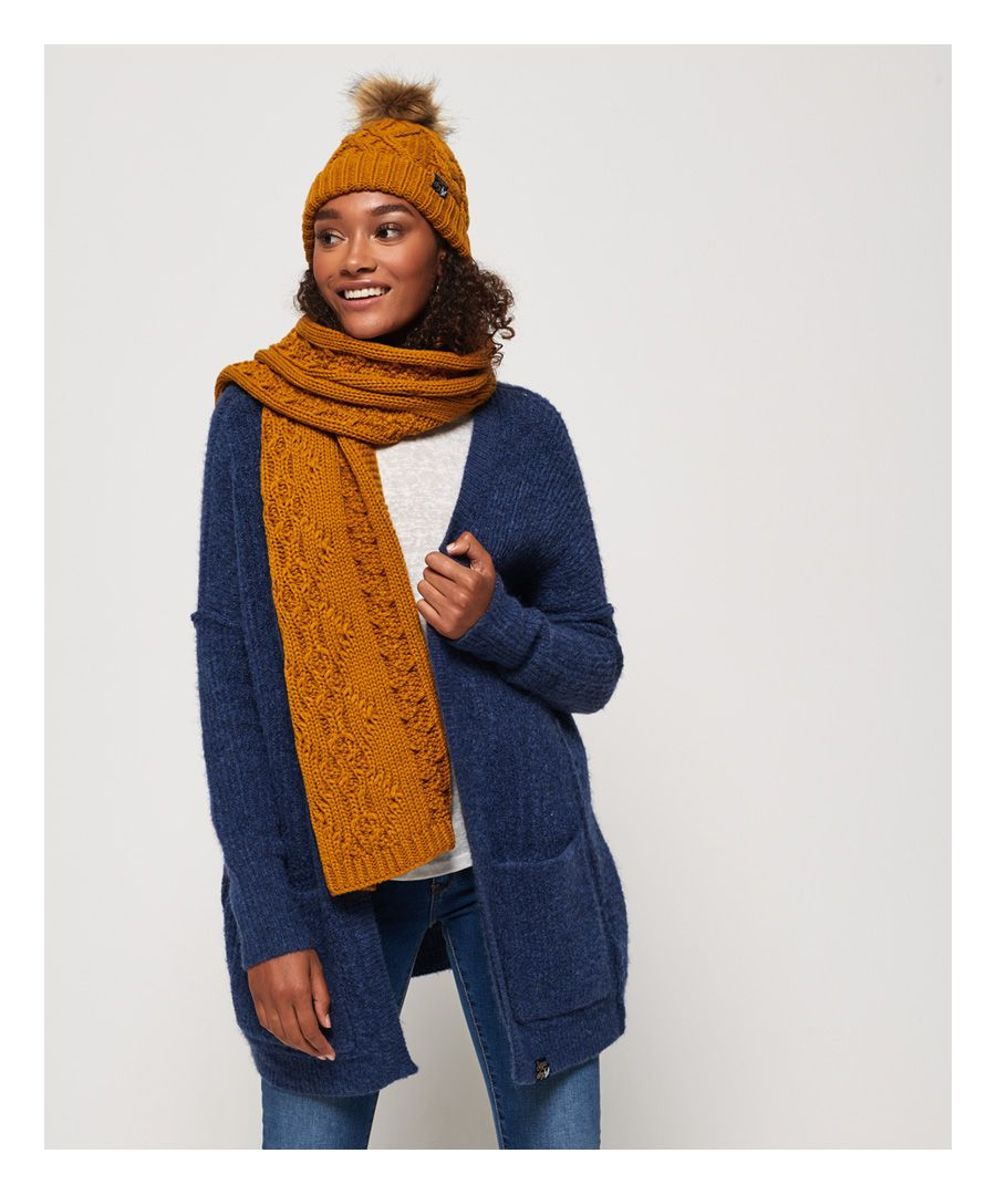 Image for Superdry Arizona Cable Scarf