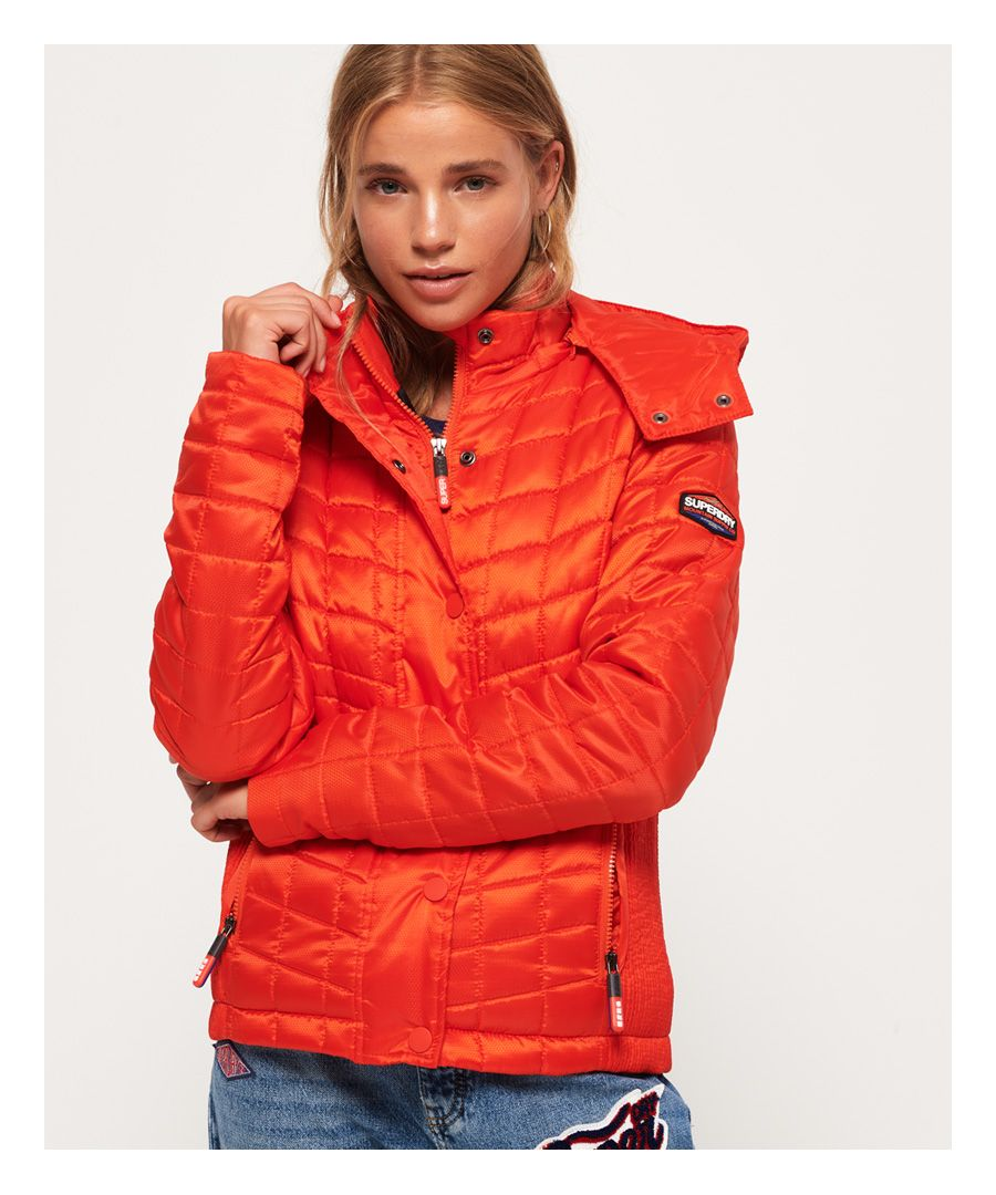 Image for Superdry Nova Box Quilt Fuji Jacket